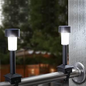 Solar Deko Für Balkon : 4er set led solar balkon leuchten mit befestigungsband solarlampe solarleuchte ebay ~ Bigdaddyawards.com Haus und Dekorationen