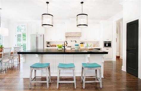 turquoise kitchen island turquoise island stools transitional kitchen