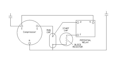 hvac potential relay wiring diagram wiring diagram with furnace startup sequence anthonydpmann
