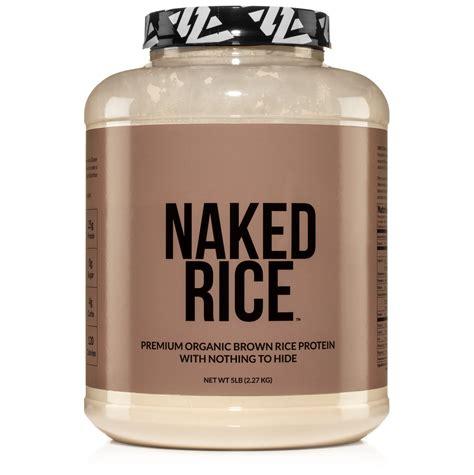organic brown rice protein powder naked rice lb