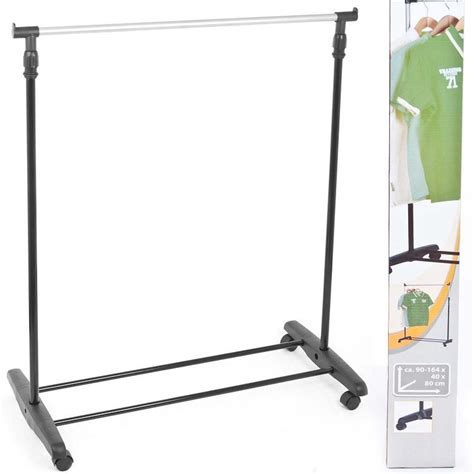 clothes stands and racks adjustable mobile clothes coat garment hanging rail rack storage stand on wheels ebay