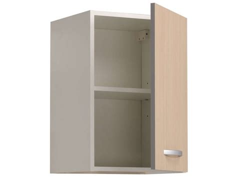 meuble haut de cuisine conforama meuble haut 40 cm 1 porte spoon color coloris chêne chez