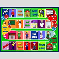 Jobs & Public Places Board Game  Esl Worksheets  Teaching English, English I Board Games For Kids