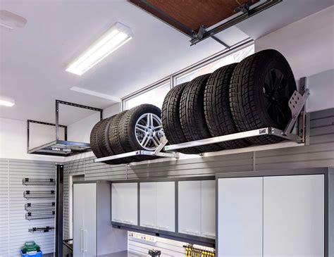 how to utilize your underused garage overhead storage space