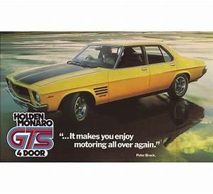 Holden Hq Gts Monaro 4 Door Brochure