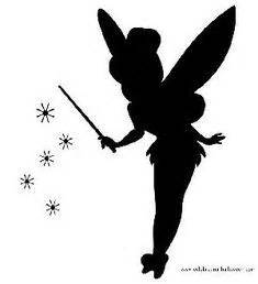 Tinkerbell Pumpkin Stencil Printable by Le Veon Bell Silhouette And Pumpkin Carvings On Pinterest