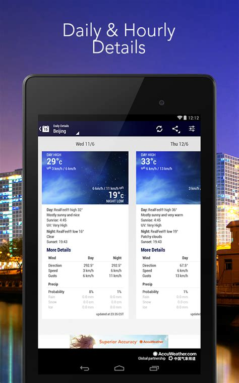 accuweather android app accuweather android apps on play