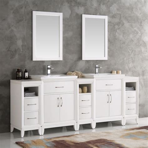 shop fresca cambridge white   double sink