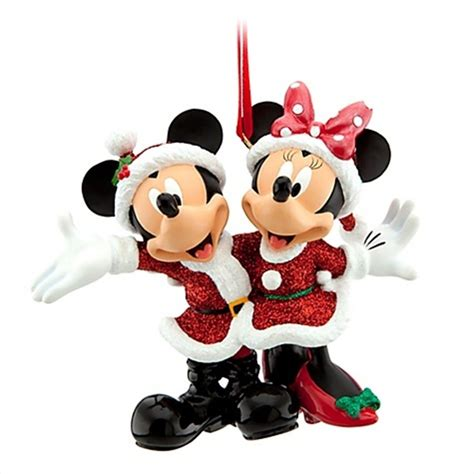 new disney world mickey minnie santa christmas holiday