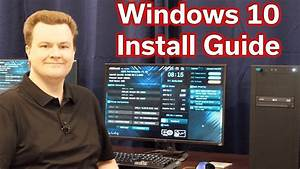 Complete Guide  U2014 Installing Windows 10 On A New Pc Build