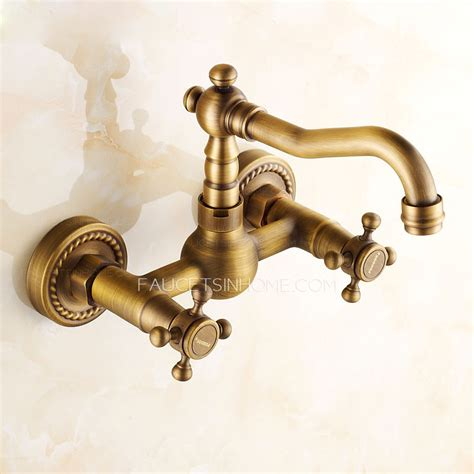 vintage bathroom sink faucets vintage antique brass rotatable wall mounted bathroom sink