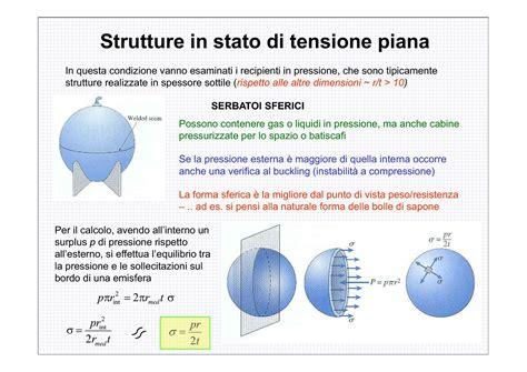 progettazione meccanica dispense tensione piana problemi dispense