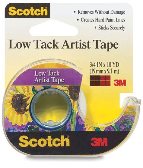tape tack low artist scotch dickblick blick
