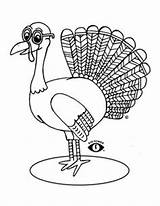Coloring Pages Thanksgiving Happy Eye Wear Power Turkey Patch Children Clothes Glasses Clothing sketch template