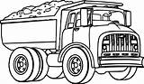 Coloring Truck Pages Dump Transport Trucks Farm Boys Patrol Paw Wecoloringpage Patterns sketch template