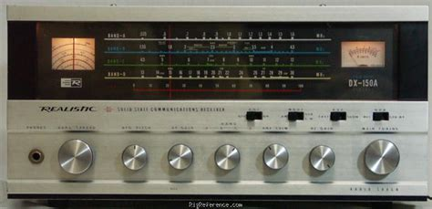 Radioshack / Realistic Dx-150a Specifications