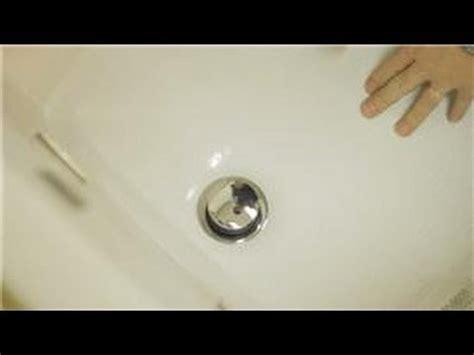 bathroom repair   repair  foot lock bathtub drain