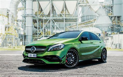 2018 Mercedes Benz A Class A45 Amg 4matic Wallpaper Hd