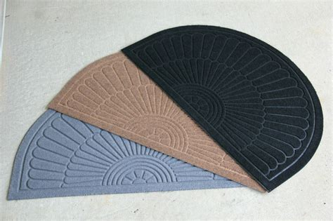 Half Circle Doormat by Half Circle Molded Brush Indoor Outdoor Rubber