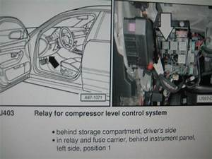 Air Suspension Relay Location