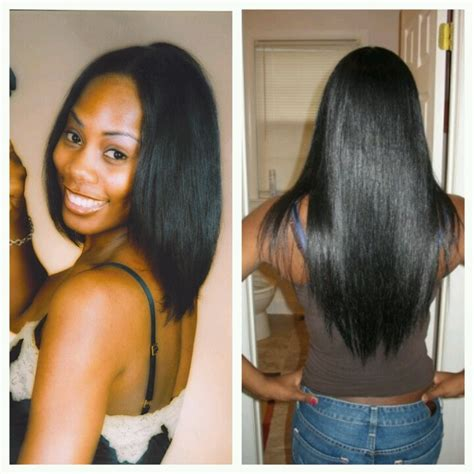 Black Hair Health by Best 25 Relaxed Hair Journey Ideas On Relaxed