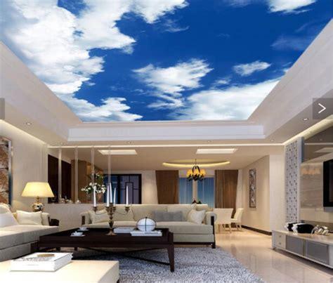 inspirasi warna cat plafon rumah minimalis  menarik