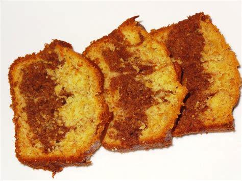 cuisiner des bananes gâteau marbré bananes plantains et cacao la tendresse en