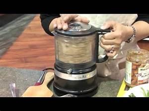 Kitchenaid Food Processor Mini : demo 39 ing kitchenaid 39 s new mini food processor youtube ~ A.2002-acura-tl-radio.info Haus und Dekorationen