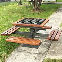 outdoor chess table Commercial Outdoor Furniture | Outdoor School Furniture ...