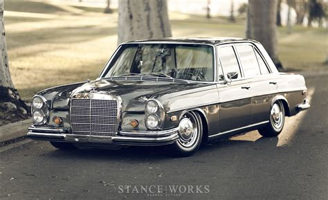 Bagged Mercedes Benz W108