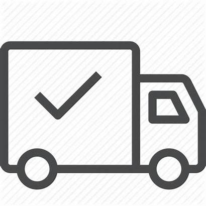 Icon Shipping Delivery Delivered Icons Shipped Material
