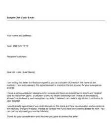 resume cover letter sles nursing assistant cna cover letter sles the best letter sle