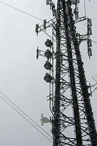 FM Radio Transmitter Antenna Tower