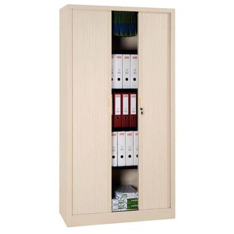 armoire haute 224 rideaux en kit largeur 120 cm manutan fr