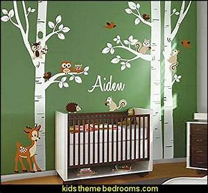 1000 ideas about enchanted forest room on pinterest With wonderful ideas woodland animal wall decals