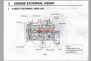 Isuzu Diesel Engine 6bg1 Instruction Manual