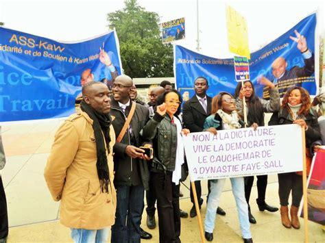 le siege des nations unis les images de la manifestation d 39 kaw devant le siège