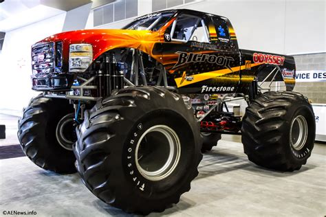 all bigfoot monster trucks the bigfoot electric monster truck
