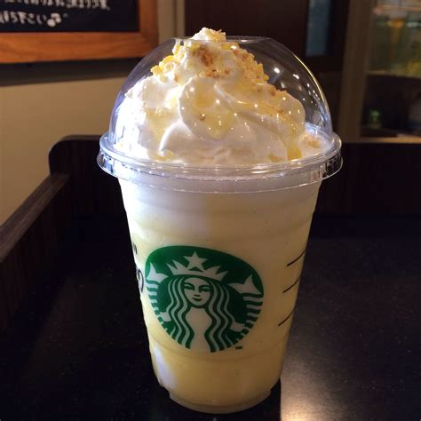 Starbucks Vanilla Lemony Swirl Latte & Frappuccino