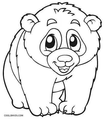 Panda Pages Coloring Printable