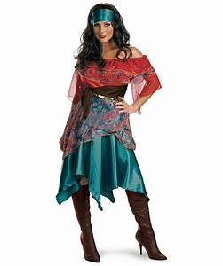 Adult Bohemian Babe Gypsy Costume - Women Costumes