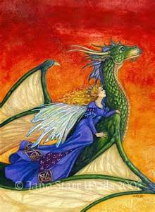 Dragon Fairy Art