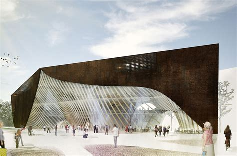 Helsinki Central Library Competition  3rd Prize Winner