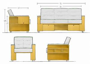 plan and elevation of sofa memsahebnet With sectional sofa elevation