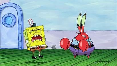 Krabs Mr Spongebob Wallpapers Fired Re Squidward
