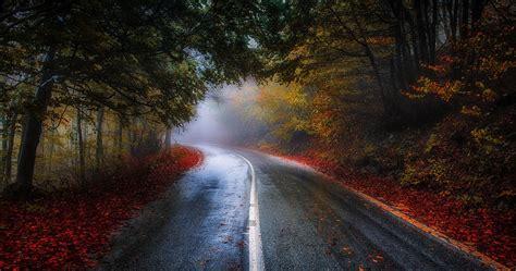Autumn Wallpapers 4k by Colorful Road In Fall 4k Ultra Hd Wallpaper Ololoshenka