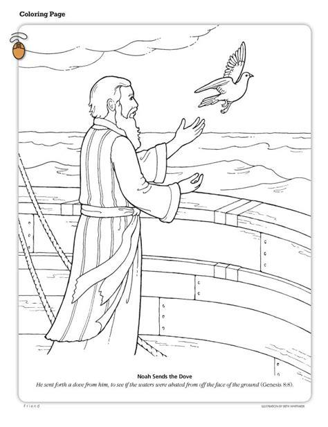 Kleurplaat Regenboog Ark Noach by Noach En De Duif 1 De Ark Noach Bijbel Kleurplaten