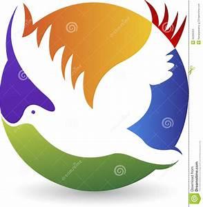 Pigeon Logo Stock Vector