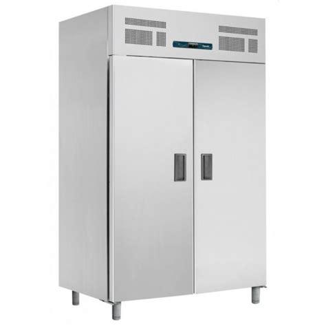 armoire frigorifique professionnelle en inox avec 2 portes