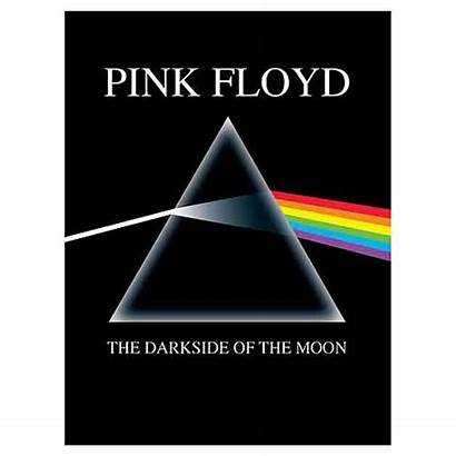 Floyd Moon Pink Dark Side Mirror Framed